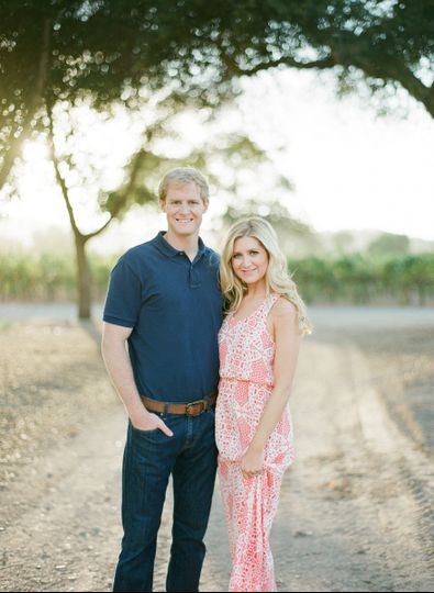 Engagement Session at Firestone Vineyard in Los Olivos, CA