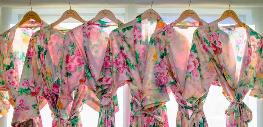 Bridesmaids Pre-wedding Robes