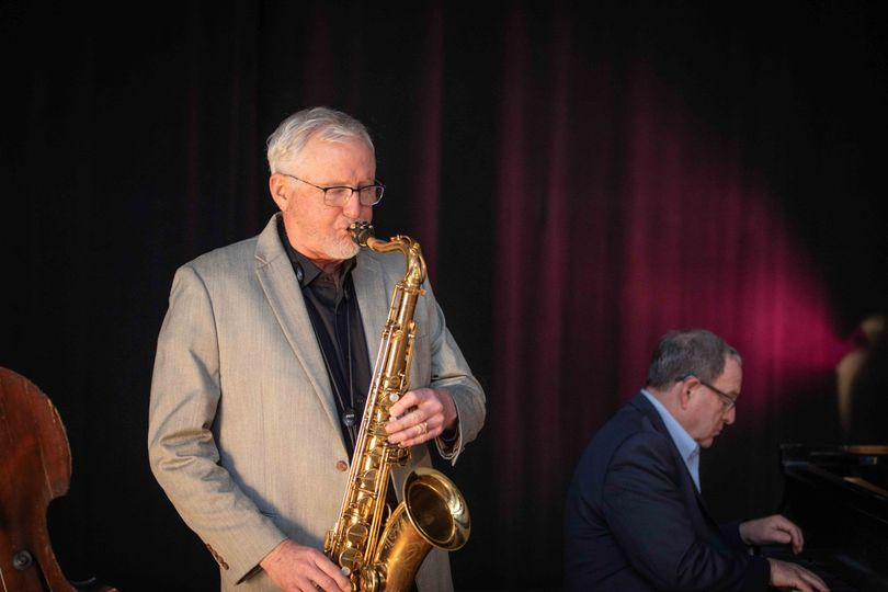 Mike Davis on Sax
