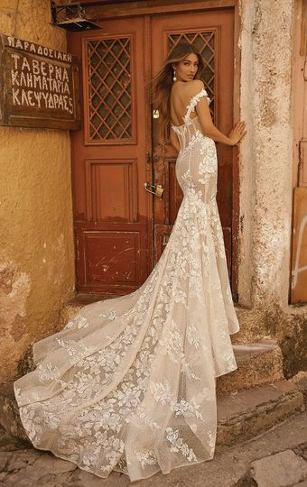 High-end bridal gown