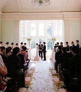 Wedding ceremony | Photo by Lisa Lefkowitz