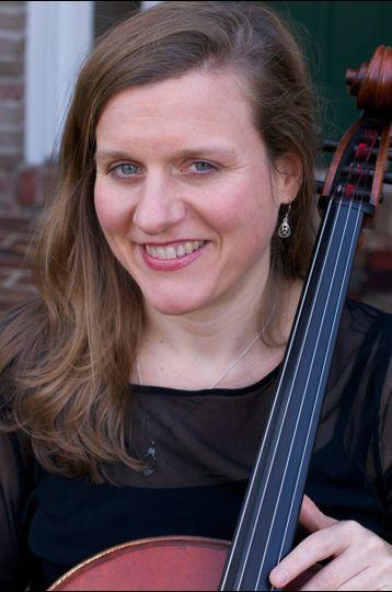 Portrait of cellist