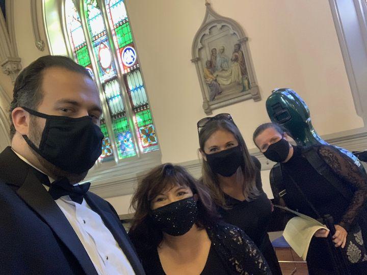 Church wedding during Covid
