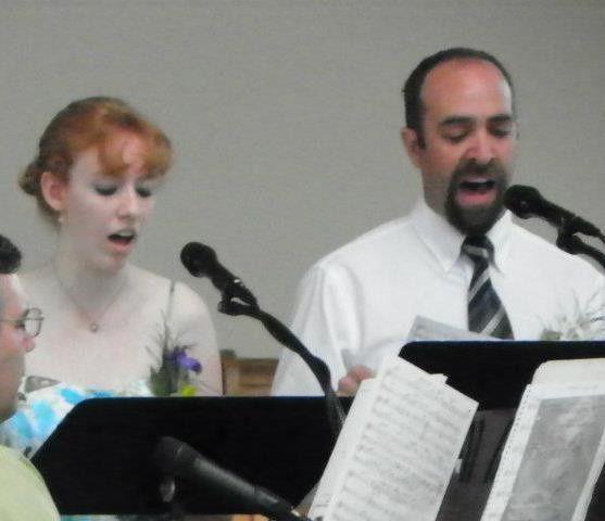 Singing in choir