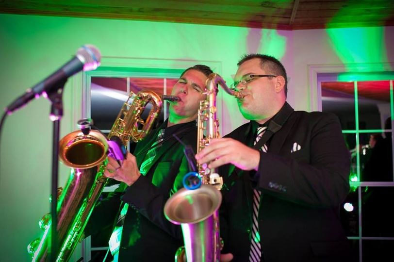 Funk Evolution performing a corporate event at Saratoga Spring's Vapor Nightclub.
