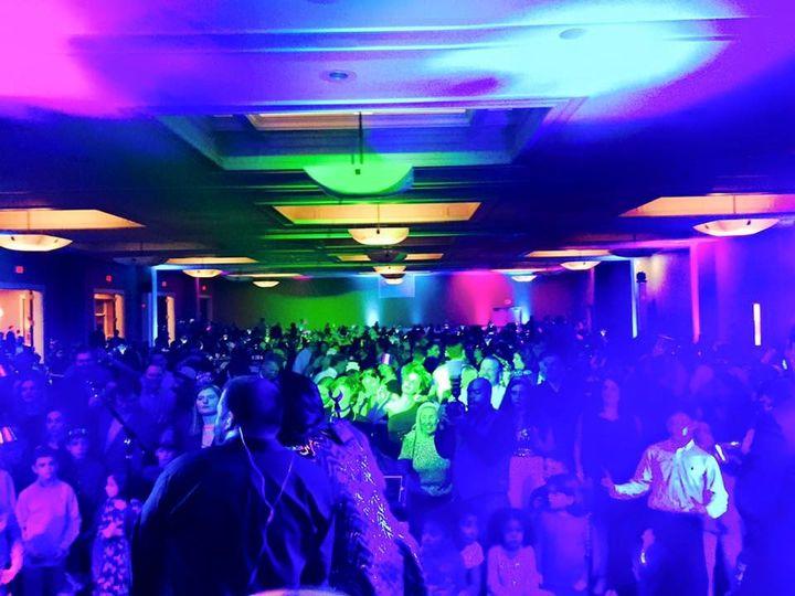 Funk Evolution performing a corporate event at Saratoga Spring's Vapor Nightclub.