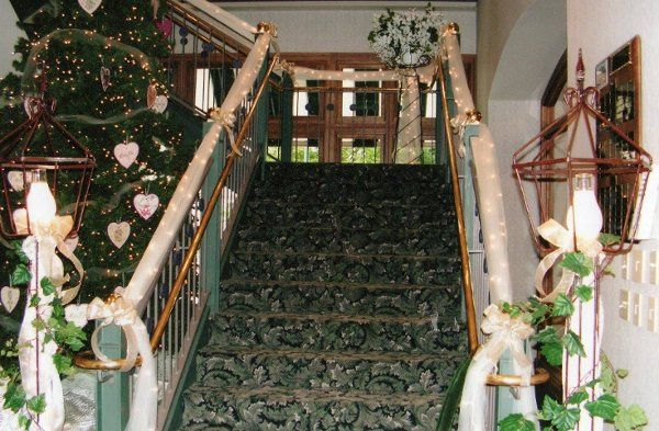 Grand Stair Case ~ Decorated