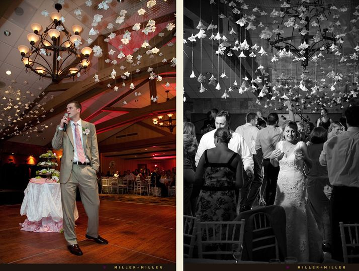 wisconsin resort wedding reception photos
