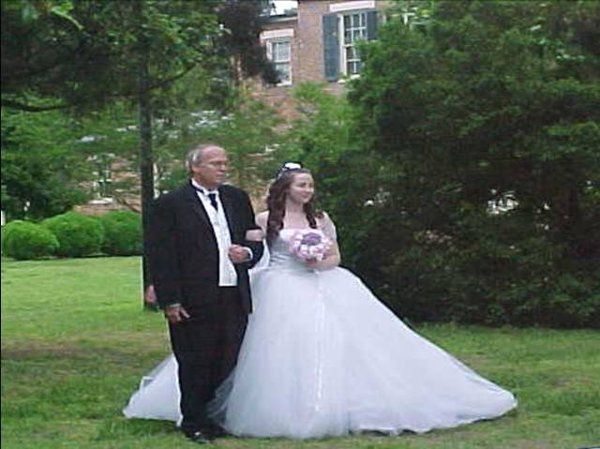 The bride with his father