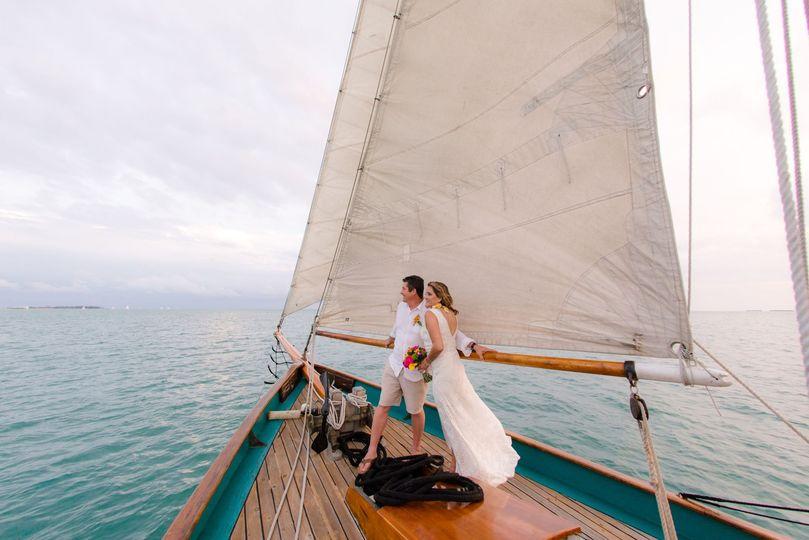 Sailing away together