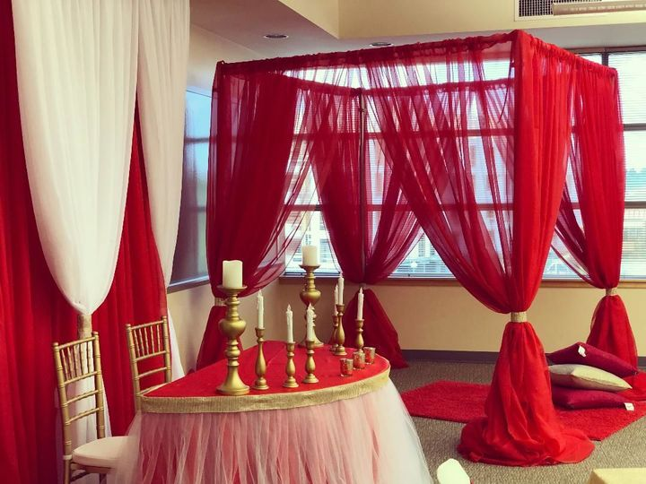 Tmx 1530515213 4c1861e9d8b4a1fe 1530515212 F5ab9bc2283eee72 1530515211355 3 Red Backdrops Portland, OR wedding rental