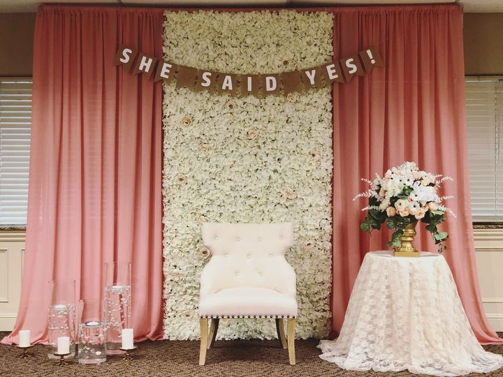 Tmx Floral Backdrop 51 647324 Portland, OR wedding rental