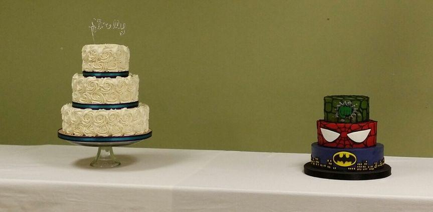 AM Custom Cakes Wedding Cake Independence MO WeddingWire