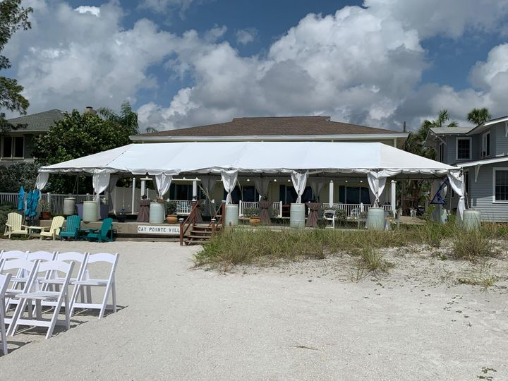 Cay Point  Tent Reception