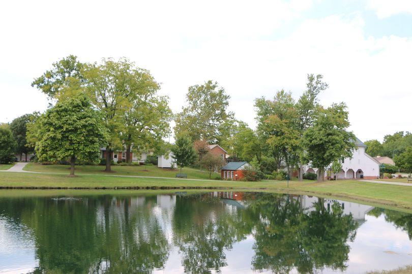 Pond, Park, Barn and Homestead