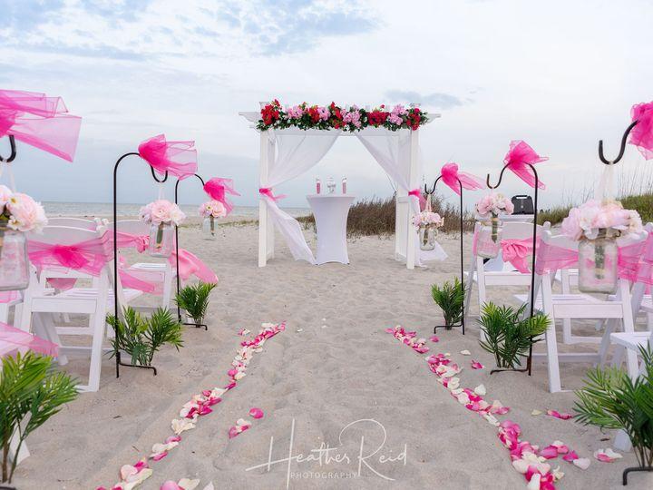 Tmx Pink Arch Castaways Beach 51 9324 Cocoa Beach, FL wedding venue