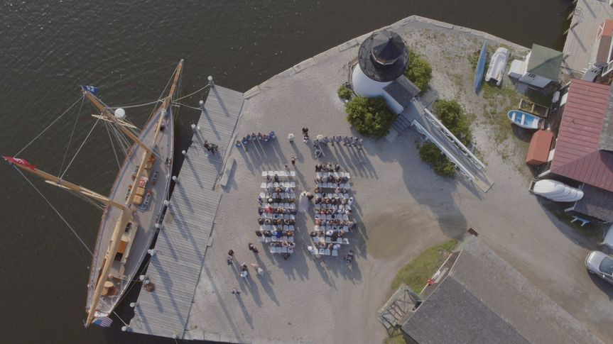 aerial mystic seaport