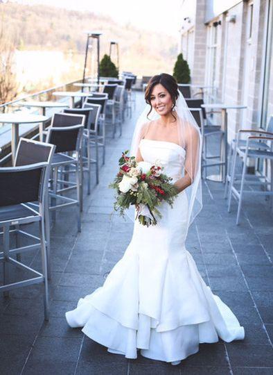 Bridal at the aisle