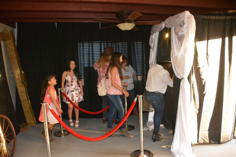 Photo Booth Services ... The booth is 5x5, Touchscreen monitor, Choose three color Styles (B&W,...