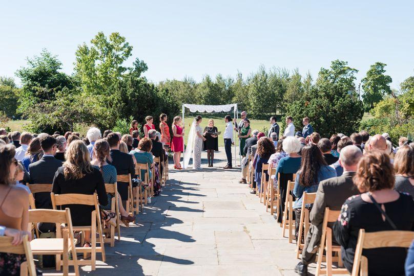 Garfield Park Wedding Ceremony