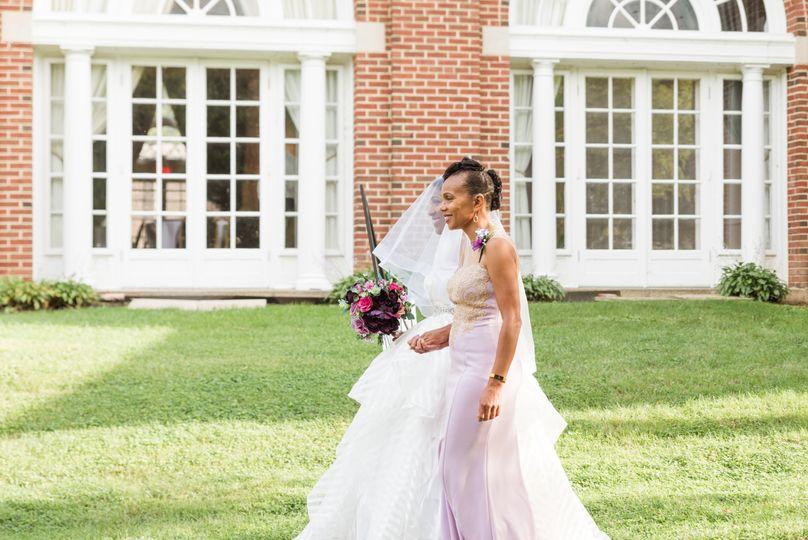 Mom Walking Bride down