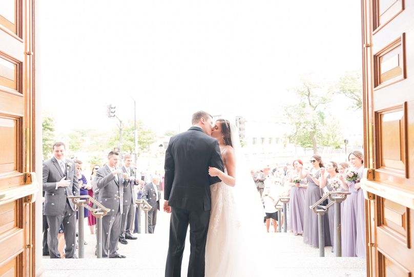 After Ceremony Kiss