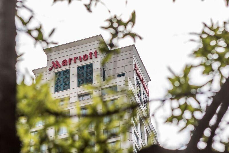 Marriott building