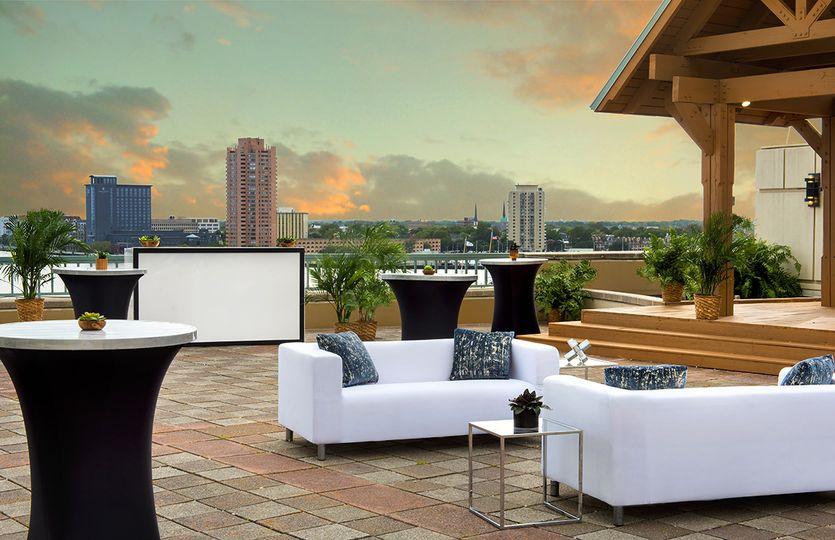 Waterside Terrace Reception