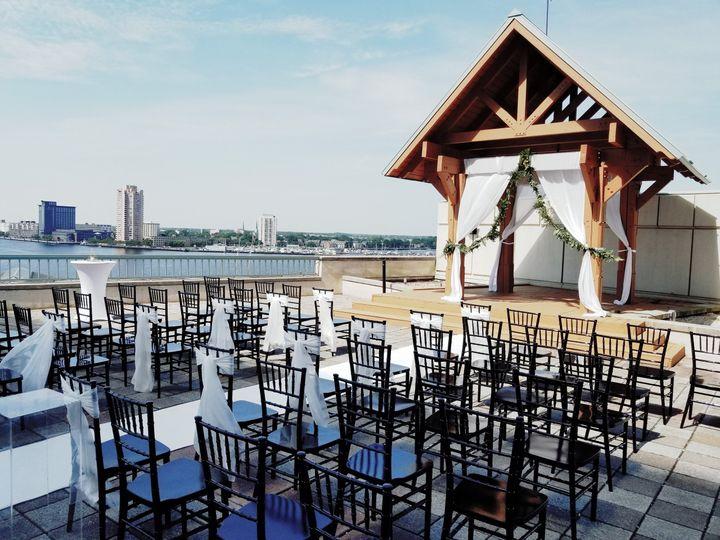 Waterside Terrace Ceremony