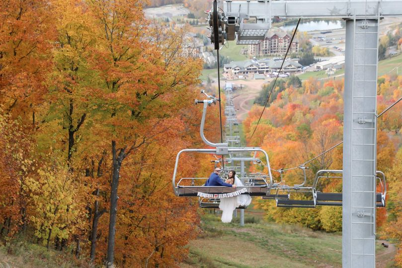 Chairlift Fall