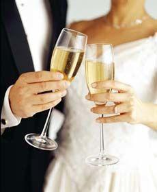 Couple cheers