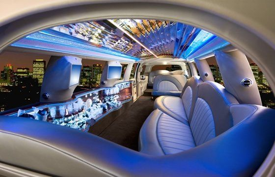 A very spaceous and elegant vehicle