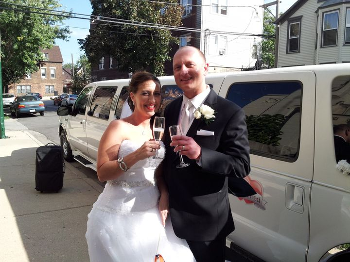 Tmx 1389303143065 Rob  Aimee 9 28 1 Burbank, Illinois wedding transportation