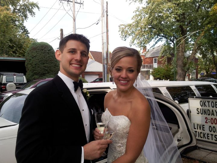 Tmx 1389303179218 Nathan  Gloria 10 19 1 Burbank, Illinois wedding transportation
