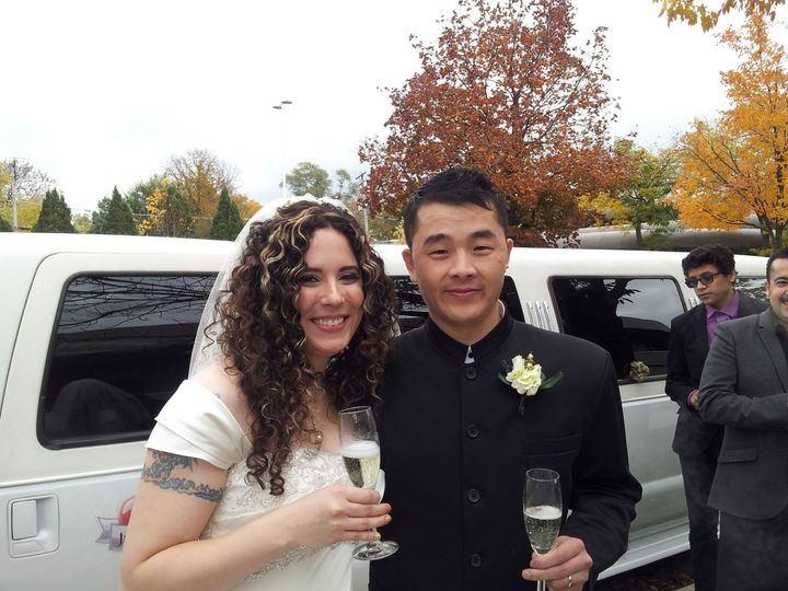 Tmx 1389303231369 Maureen  Jing 11 2 1 Burbank, Illinois wedding transportation