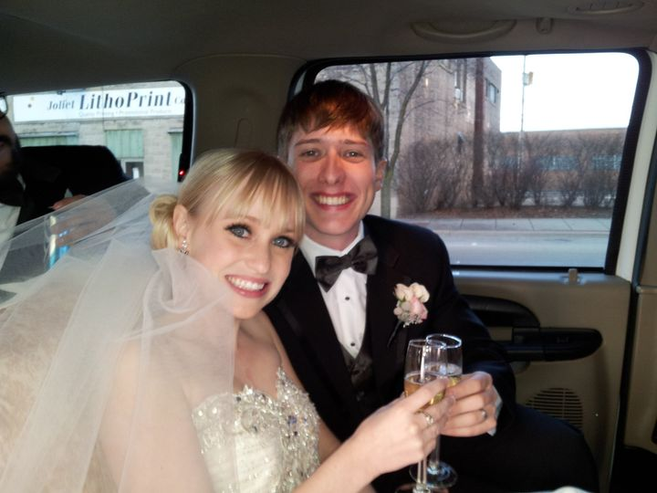 Tmx 1389303273610 Katie  Tim 12 7 201 Burbank, Illinois wedding transportation