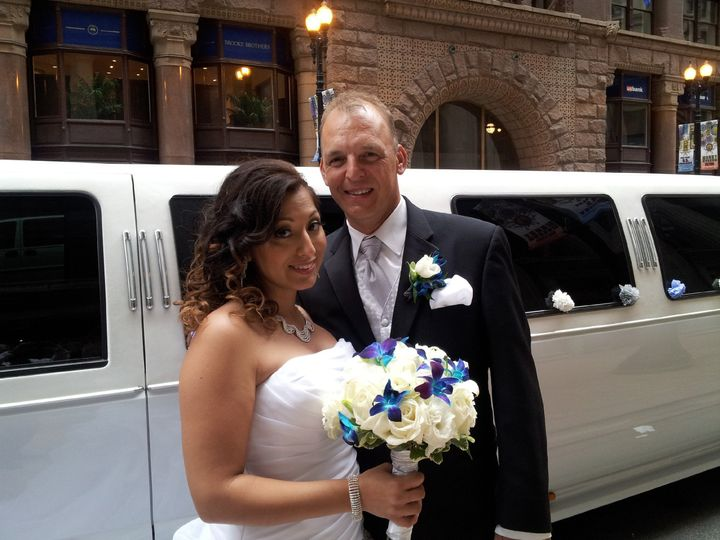 Tmx 1389303372322 David  Christina 7 27 201 Burbank, Illinois wedding transportation