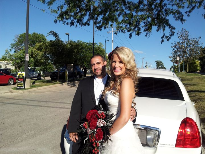 Tmx 1389468487578 James  Amanda 9 13 1 Burbank, Illinois wedding transportation