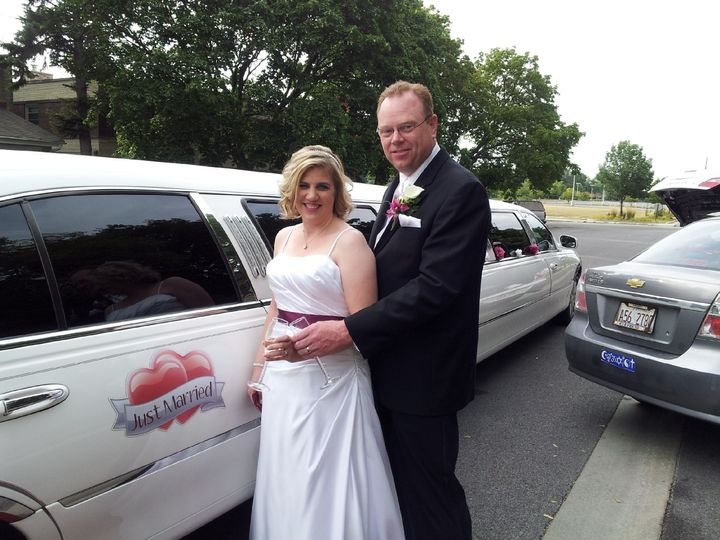 Tmx 1389468516596 Brian  Cindy 8 9 1 Burbank, Illinois wedding transportation