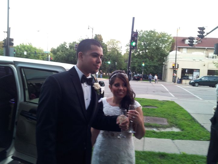 Tmx 1428522483307 Nadia  Jose 9 13 14 Burbank, Illinois wedding transportation