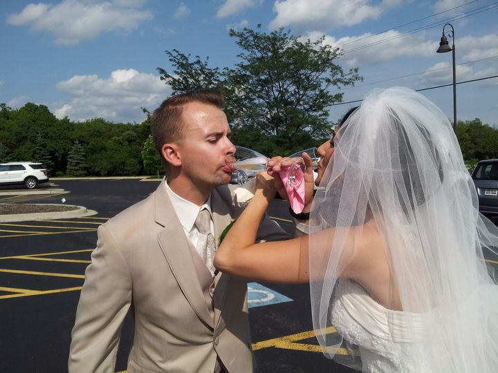 Tmx 1428522647540 Alexis  Dave 7 18 2014 Burbank, Illinois wedding transportation