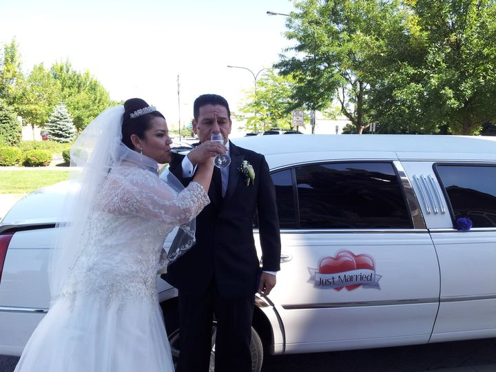 Tmx 1428522688500 Alma  Enrique 9 6 2014 Burbank, Illinois wedding transportation