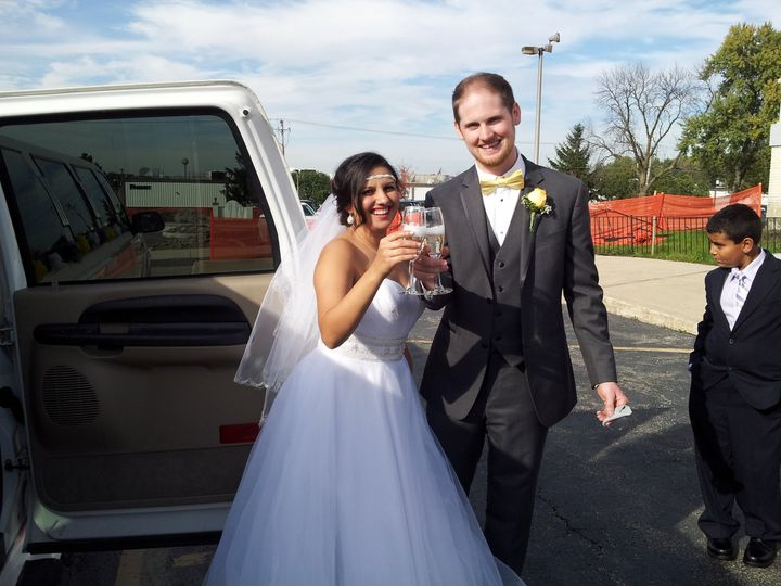 Tmx 1428522807432 Jenny  Jordan 9 27 14 Burbank, Illinois wedding transportation