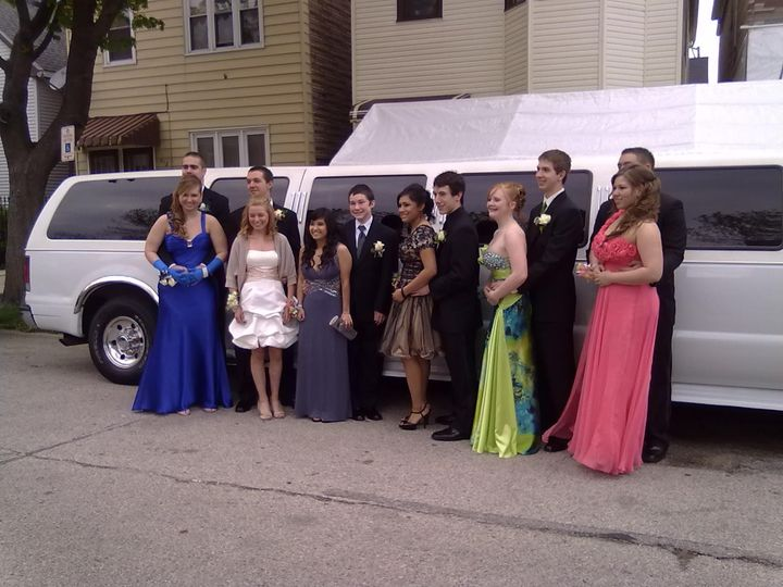Tmx 1456871414656 Delasalle Jr. Prom 5 7 2011 Burbank, Illinois wedding transportation