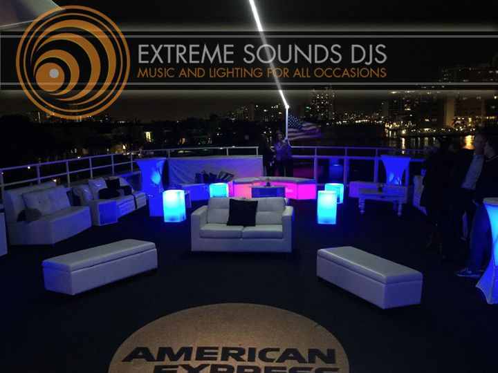 Tmx Extreme Sounds Djs Monogram American Express 51 355424 158449150228118 Hollywood, FL wedding dj