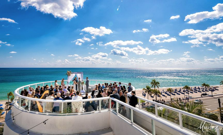 wedding ceremony hilton fort lauderdale beach 51 355424 158448575829129