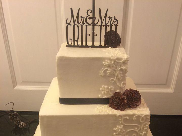 Tmx 1437588670059 Climbing Scroll Columbia, PA wedding cake