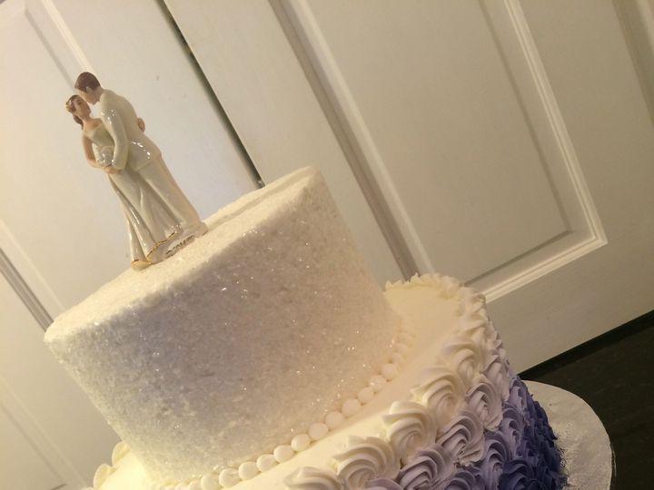 Tmx 1437588711482 Ombre Rosette Columbia, PA wedding cake