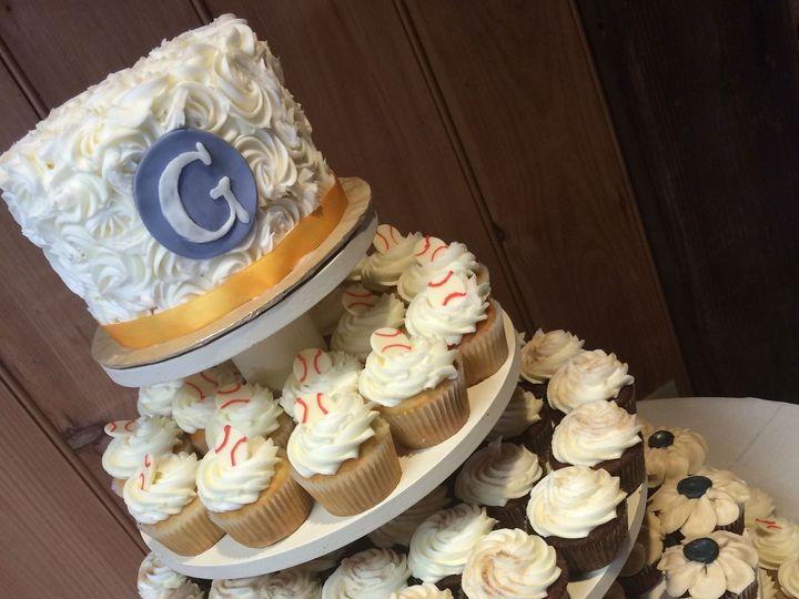 Tmx 1437588780111 Cupcakes G Columbia, PA wedding cake
