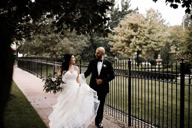 Iris + Luis Haley Mansion